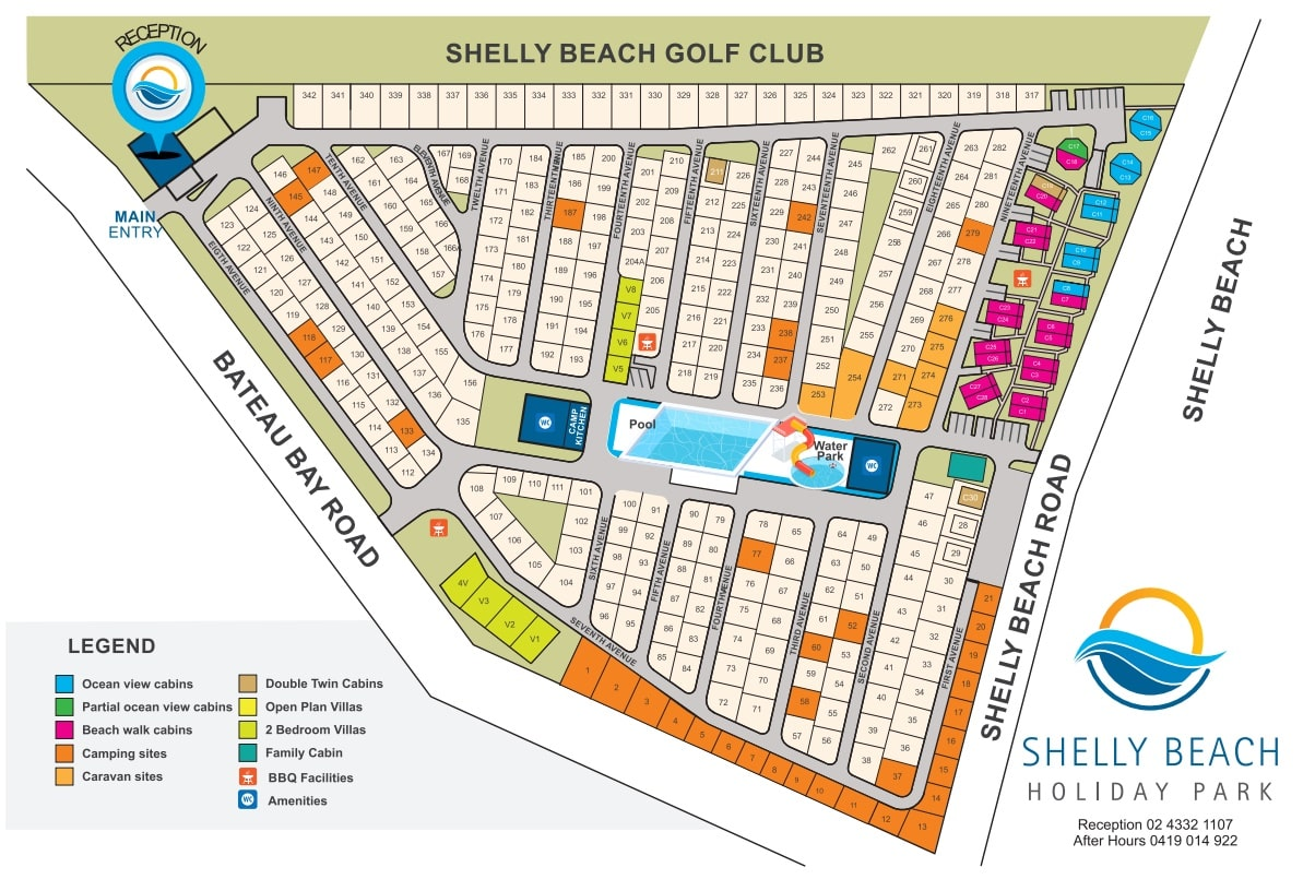 Shelly Beach Caravan Park Holiday Park Accommodation